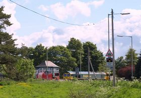 Level Crossing Blackford © Brian Forbes