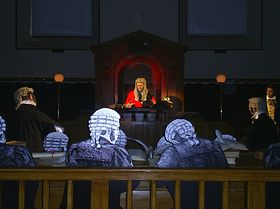 Guilty or not guilty - Visit Bodmin's Courtroom Experience and cast your vote © Wendy Venning