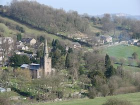 Bonsall from the Limestone Way © Jeffrey Darlington