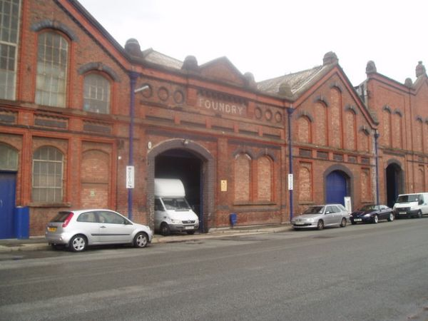 Harland and Wolff Old Foundry Entrance