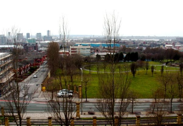 Looking towards Bootle