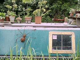 Creative Barge on the Canal © Emma Marshall