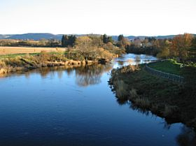 River Earn looking East from the Bridge, Bridge of Earn © Jack Blair