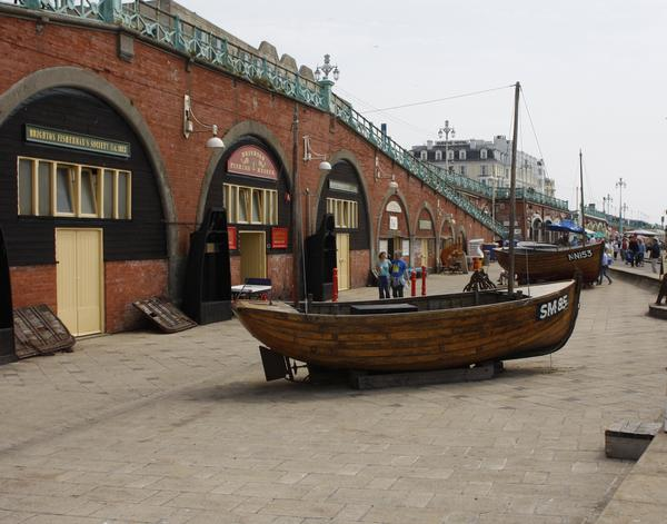 Fishing Museum on Brighton Sea Front