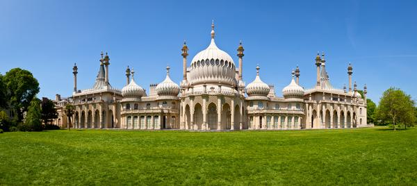 Panorama of the Royal Pavilion