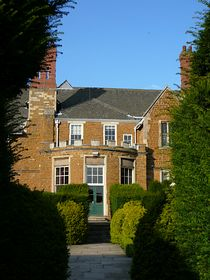 Brooksby Old Hall - end view © Patricia Rose