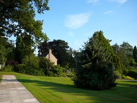 Brooksby College - part of the gardens © Patricia Rose