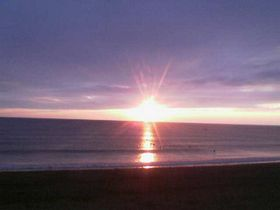 Sunset over Widemouth Bay © Kathy
