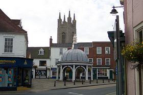 The Buttercross, Bungay © Trevor Page