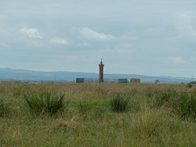 Edward 1 Monument on the marsh about a mile from Burgh by Sands © Mike Faulkner