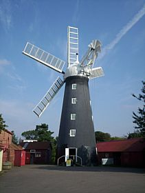 Dobson's Mill, Burgh le Marsh © Sylvia Blight