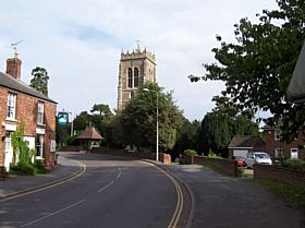 Church View from High St. Burgh le Marsh © Sylvia Blight