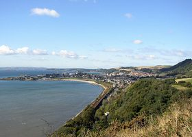 View to Burntisland © David Dunn