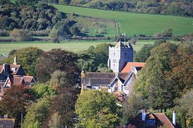 St. Mary's Church, from Perry Hill © Len Brook