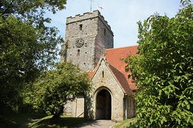 St. Mary's Church, Burpham © Len Brook