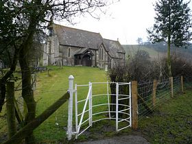 St. Mary's church, Byton 30.01.2009 © Erica Creer