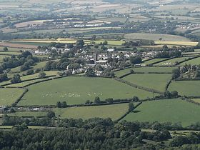 Stoke Climsand,from Kit Hill,Callington. © Daryle Arkwell-Gay
