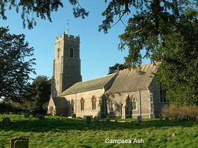 Campsea Ash Church © Peggy Cannell