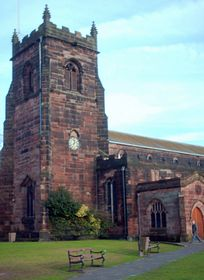 Parish church, Cannock © Dale Miles
