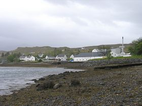 Talisker Distillery, Carbost. May 2007 © Joanne Brockman