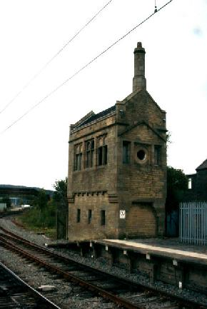Carnforth Station Old Signal Box
