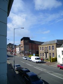 A view of Chard Fore Street © Shayna Knight
