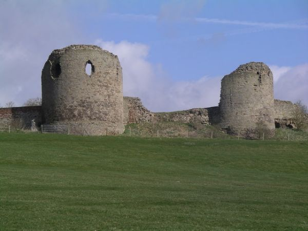 Chartley Castle Ruins