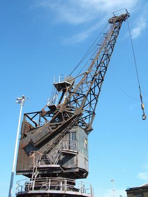 Crane in Chatham Dockyard