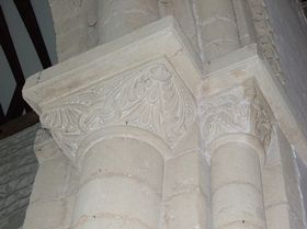 St.Peter & St.Paul, Capitals on Nave-Choir Arch © Don Evemy