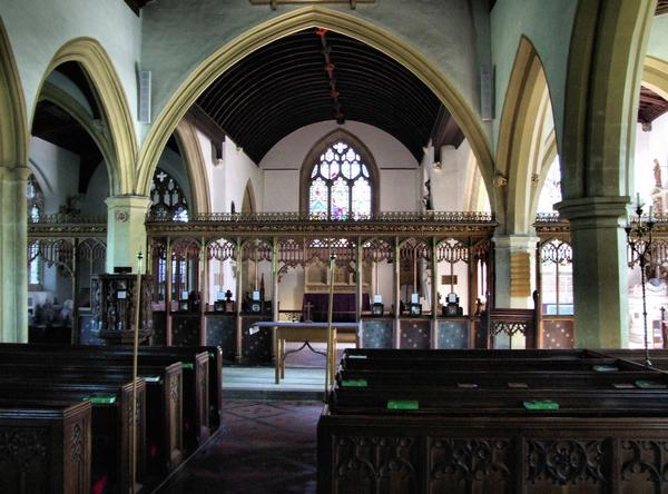 St Andrew's Church Interior
