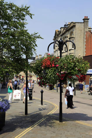 Flowers and Shops in Chippenham