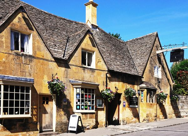 The Eight Bells Inn, Chipping Campden, The Cotswolds, Gloucestershire, England