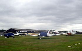 Fairoaks Airport Chobham (c) sisaphus via Flickr