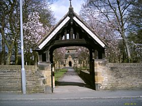 The Entrance to Historic St Johns Church, Clayton © Michael McGann