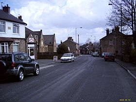 A view down Clayton Lane © Michael McGann