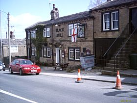 The Bull in Clayton, which Albert Pierepoint the Hangman used to Frequent © Michael McGann