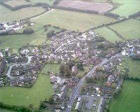 An aerial view of Cockshutt © Paul Haskey