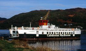Colintraive ferry © Alan Wilding