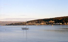 Rothesay bay © Alan Wilding
