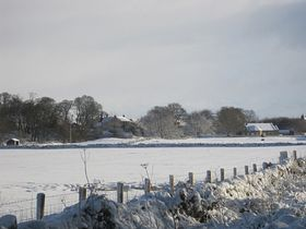 Colwell in winter © Linda Barclay