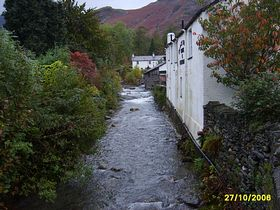 Cottages by the river at Coniston © Dave Wilton