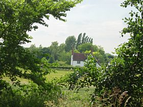 Church Farm from the Church, Cookley © Christine Wilson