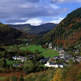 Corris Village  © Kevin Richardson