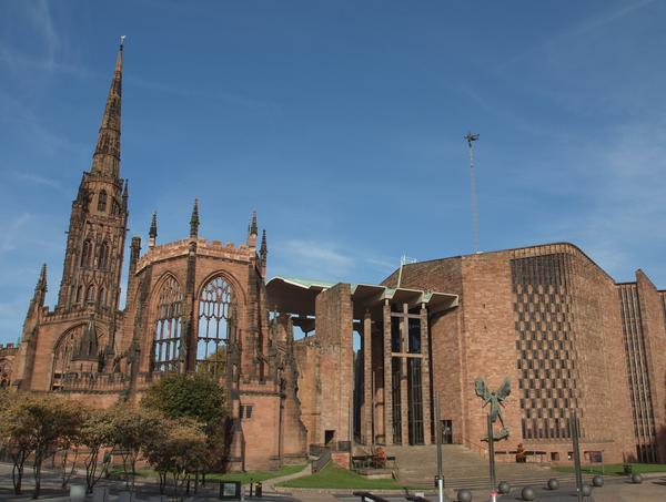 St Michael Cathedral, Coventry, England, UK
