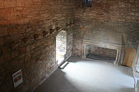 The Hall where meals were served at Craigmillar Castle © Ian Dick