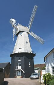 Union Mill Cranbrook the tallest smock mill in England © Paul Daniell