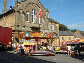 fair in the square Crewkerne ©Ted Wilkins