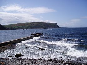 Sparkling Waters at Crovie © Andrew Evans