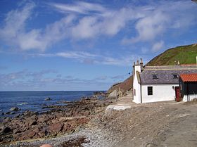 The Sea Shore Crovie © Andrew Evans