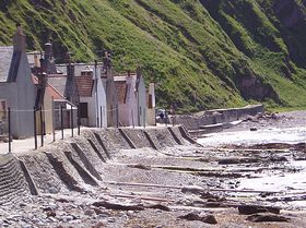 Fishermans Cottages Crovie © Andrew Evans